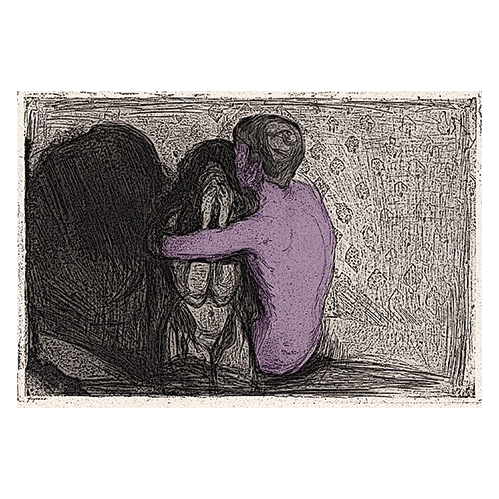 consolation edvard munch print