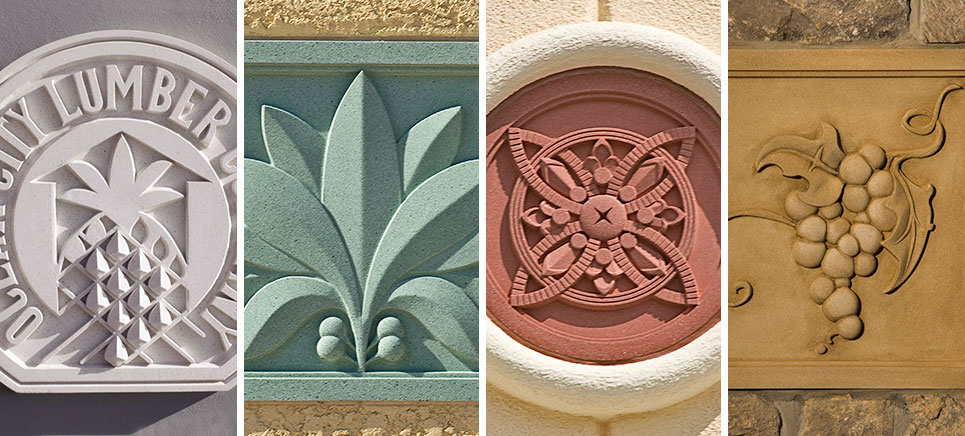 Pineapple Grove Designs  Medallions and Friezes