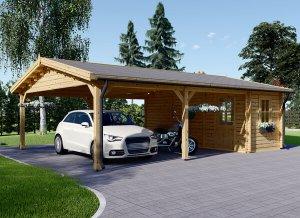 Prefab Wooden Garages For Sale Pineca Com