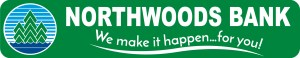 Logo for Northwoods Bank, We Make it Happen