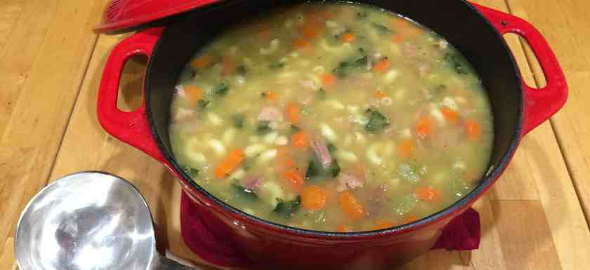 Pot of Soup introducing the Soup of the Month