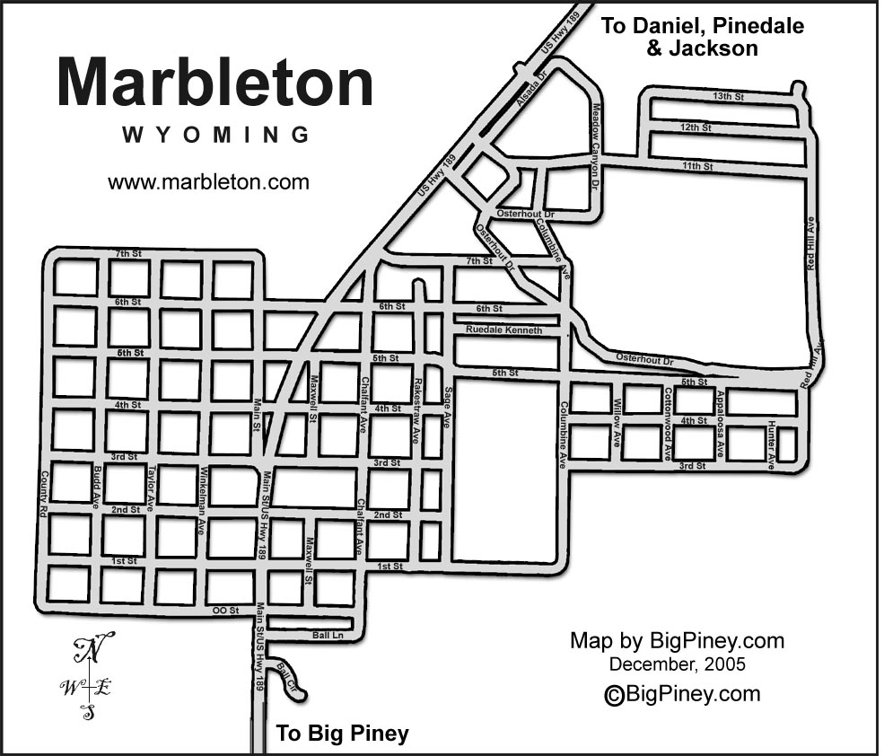 Brochures and Maps for Pinedale and Sublette County, Wyoming
