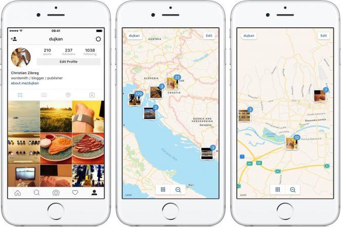 İnstagram, Foursquare Oluyor: İnstagram Yeni Harita Özelliğini Test Ediyor