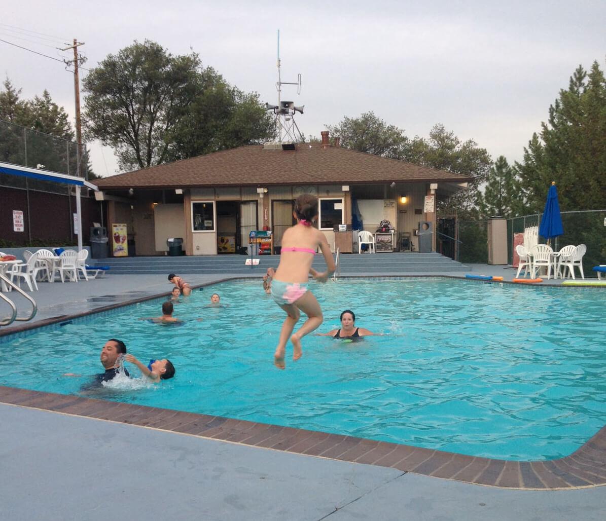 Swim Center Pool Temp Is 84 88 Pine Mountain Lake