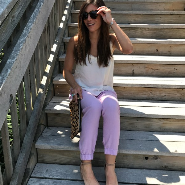 jcrew, seaside pants, ootd, blogger