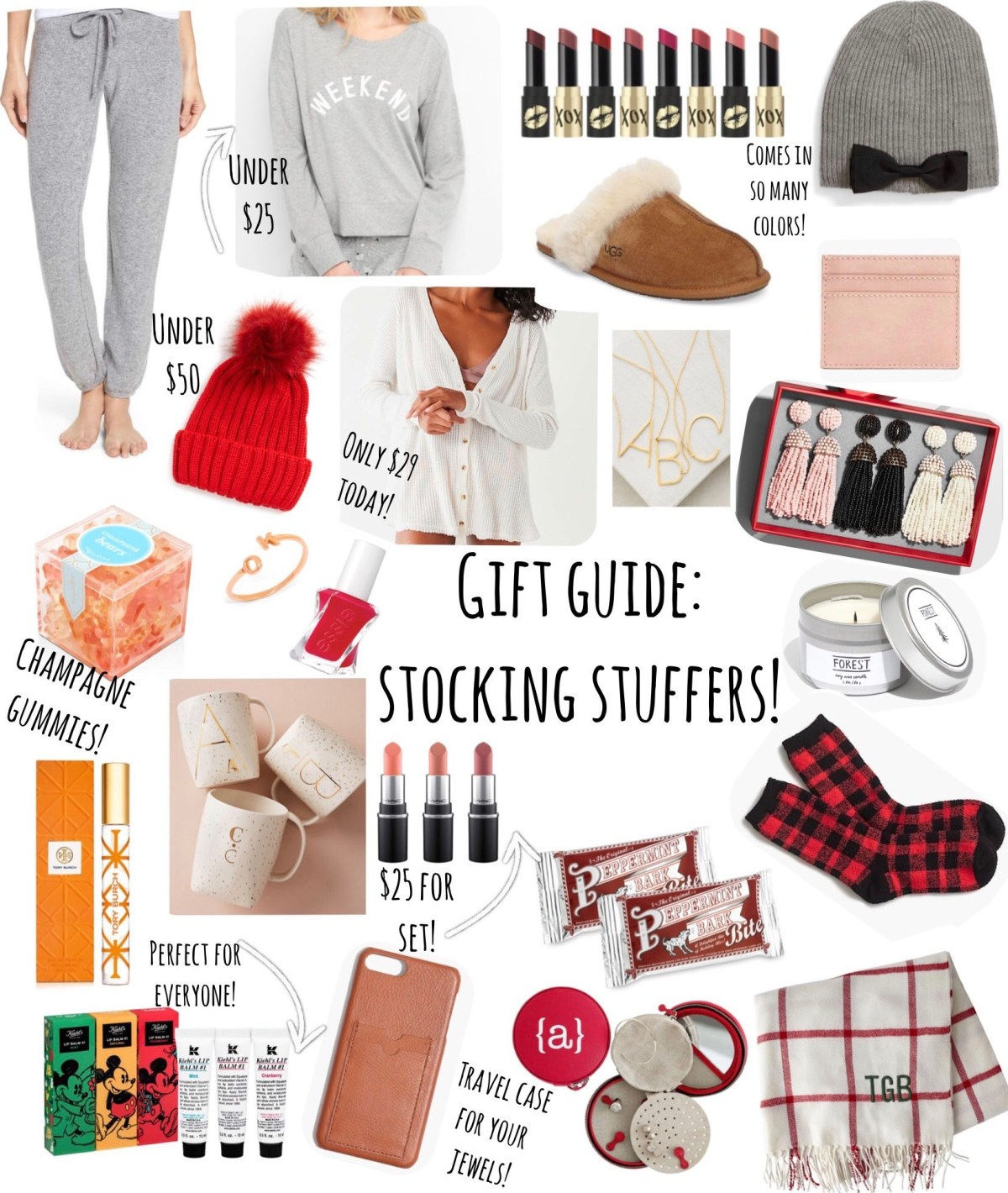Gift Guide: Stocking Stuffers!