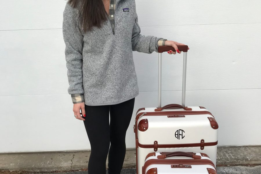 luggage, patagonia, pullover, travel