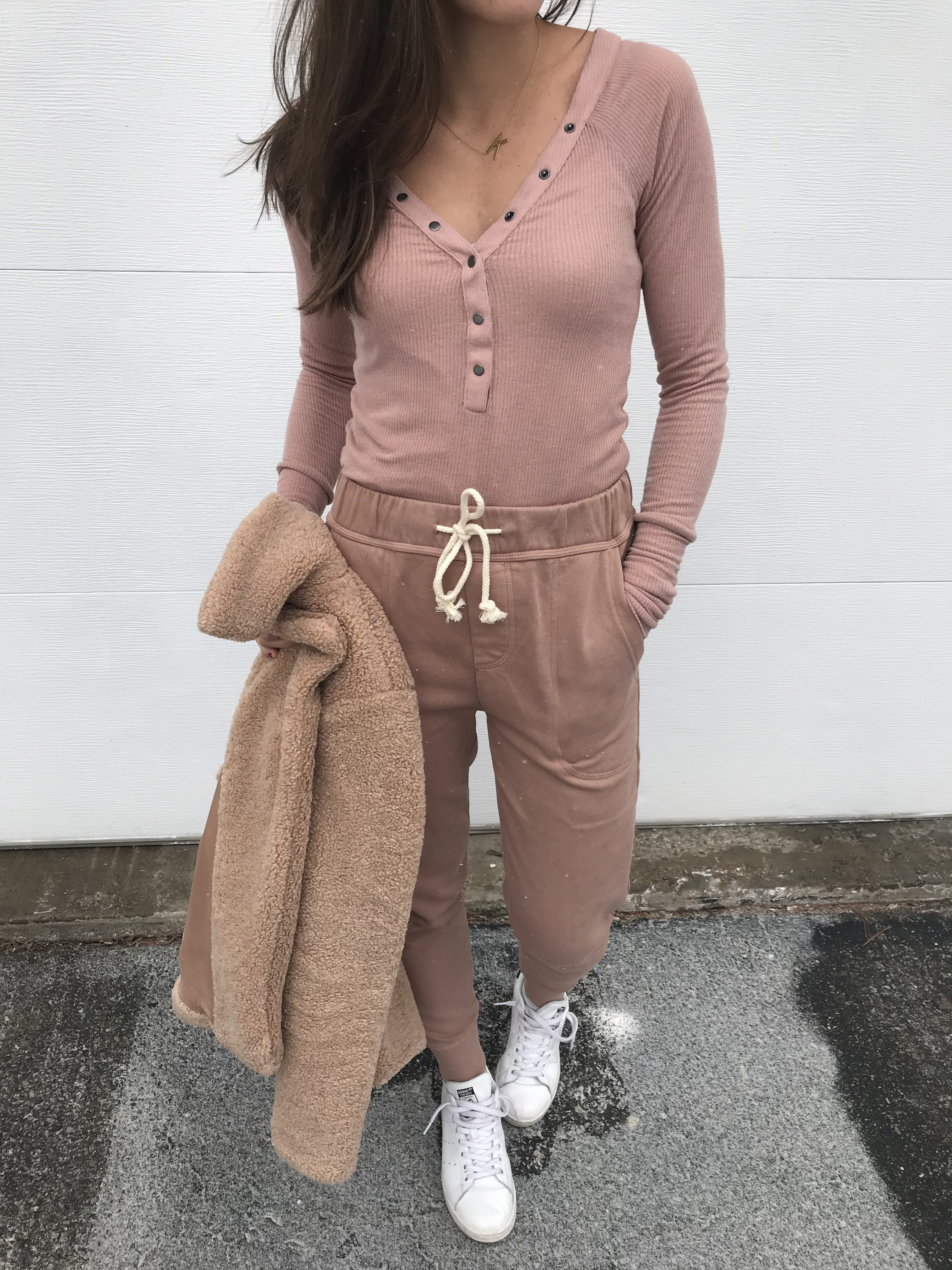 joggers, henley, urban outfitters