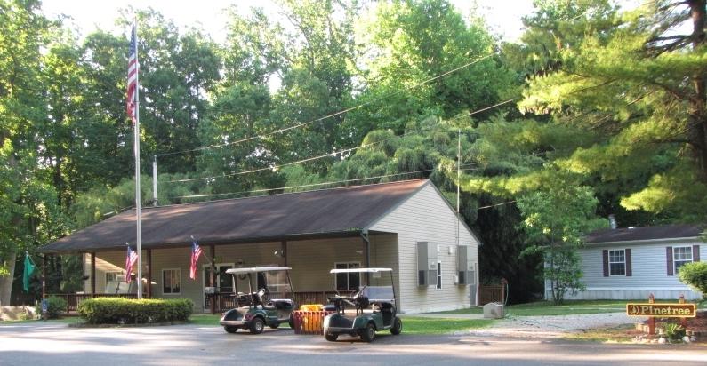 The Pine Tree Office.