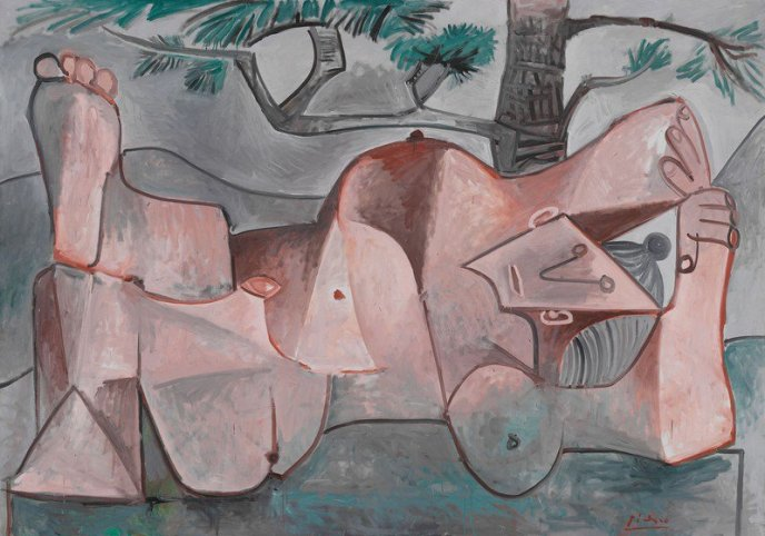 "Picasso's ""Nude Under a Pine Tree"", 1959."