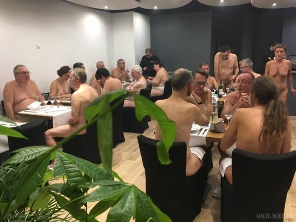 O'Naturel Nude Restaurant in Paris