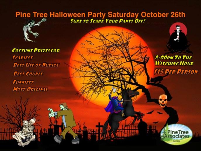 Halloween Party 2019 flyer