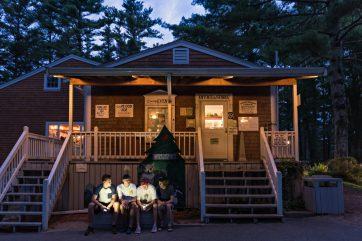 Lodge After Dark