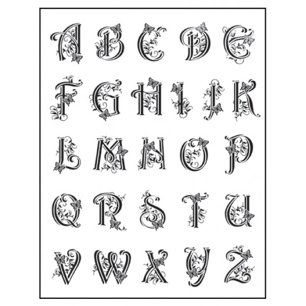 Decorative Letter Blocks For Home