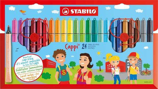 STABILO Cappi 24 Stiften