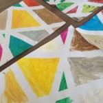 Schilderij maken met afplaktape