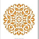 Mandala Sjabloon arabisch