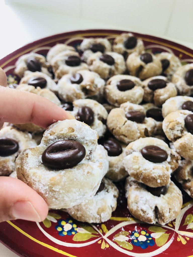 Koffie koekjes gemakkelijk recept nescafe marokkaanse koekjes koffieboon chocolade-3