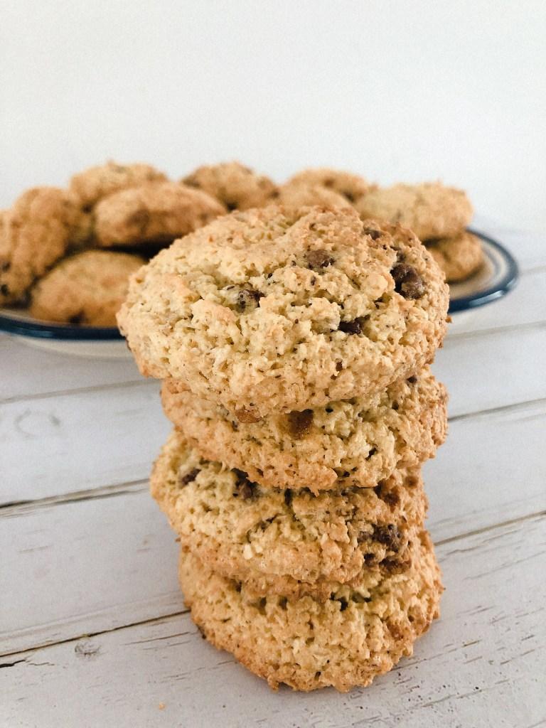 Havermout koekjes met kokos en chocolade - recept - maken-1