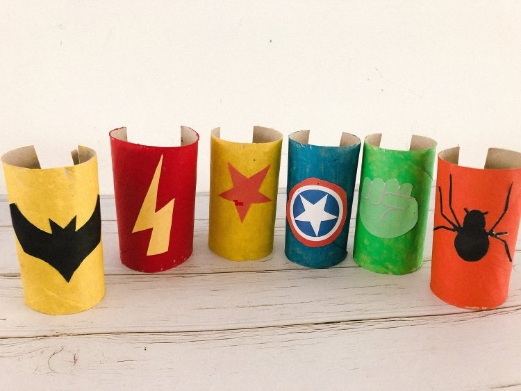 Thema superhelden knutsel ideeën - superhelden armband knutselen-2