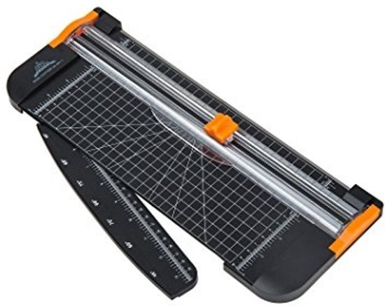 Papiersnijder - met verlengde arm - 6 extra mesjes - papier snijder - a4 - snijmachine - rol snijder - fotosnijder - foto snijder - Papiersnijder A4