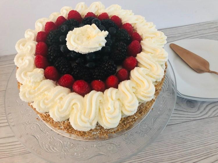 Slagroomtaart maken - taart bakken recept - lekkere taart maken-1