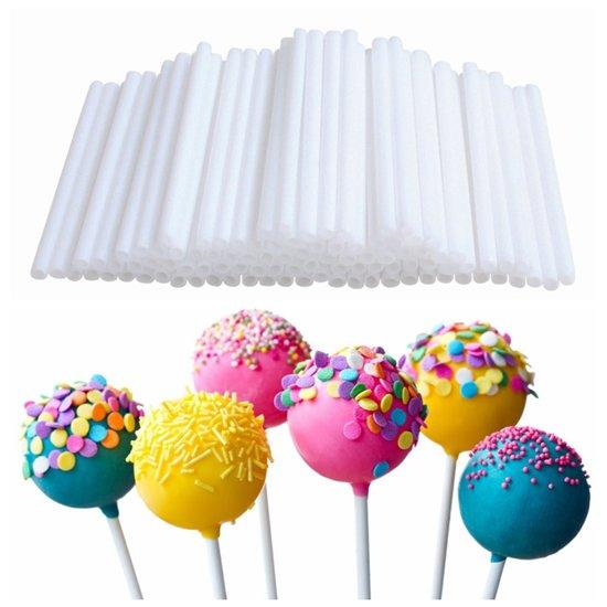 100X Cakepop Stokjes Set - Lolly Stokjes