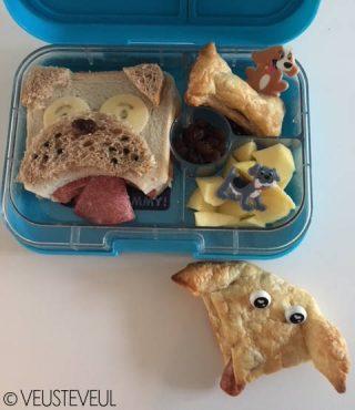 Lekkere gezonde brooddozen voor kinderenBento bentolunch simpele lunch thema dieren Maureen