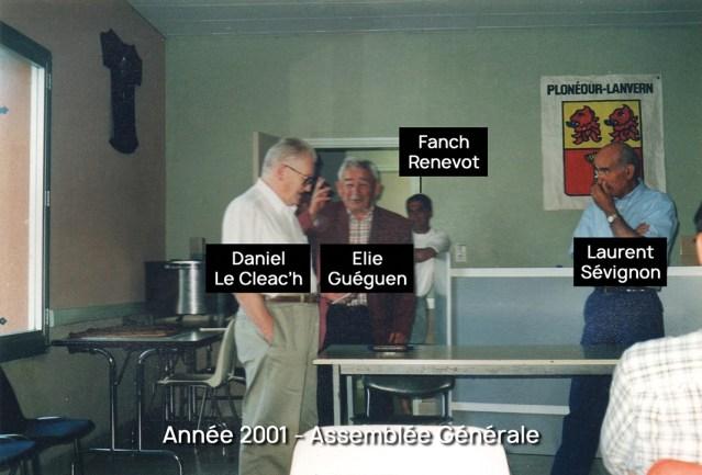 Assemblée Générale 2001