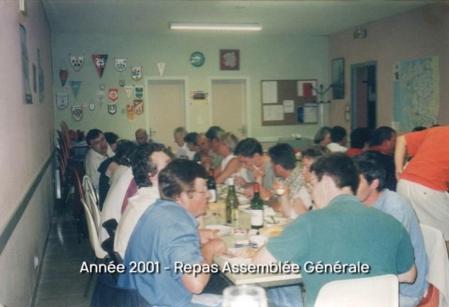 Repas Assemblée Générale 2001