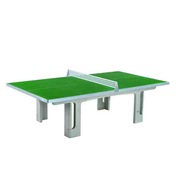 Butterfly Park Green Concrete Table Tennis Table