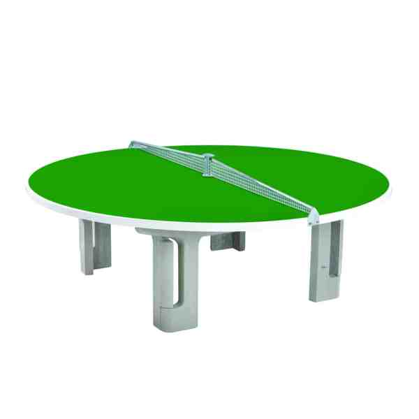 Butterfly R2000 Green Polymer Concrete Round Table