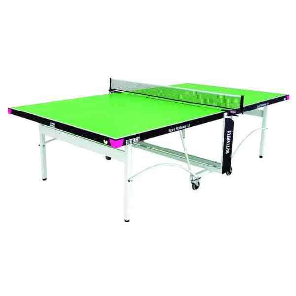 Butterfly Spirit 19 Green Rollaway Indoor Table