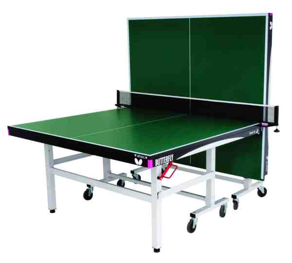 Butterfly Octet 25 Green Rollaway Table Playback