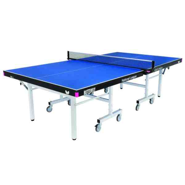 Butterfly National League 25 Blue Rollaway Table