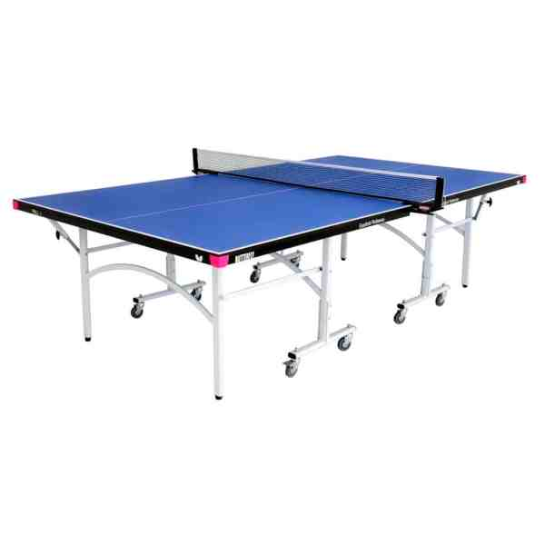 Butterfly Easifold 19 Blue Rollaway Indoor Table