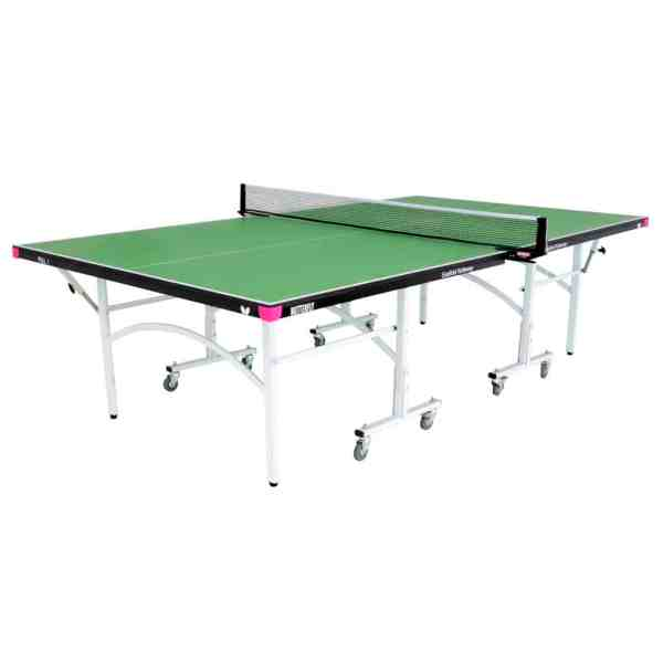 Butterfly Easifold 19 Green Rollaway Indoor Table