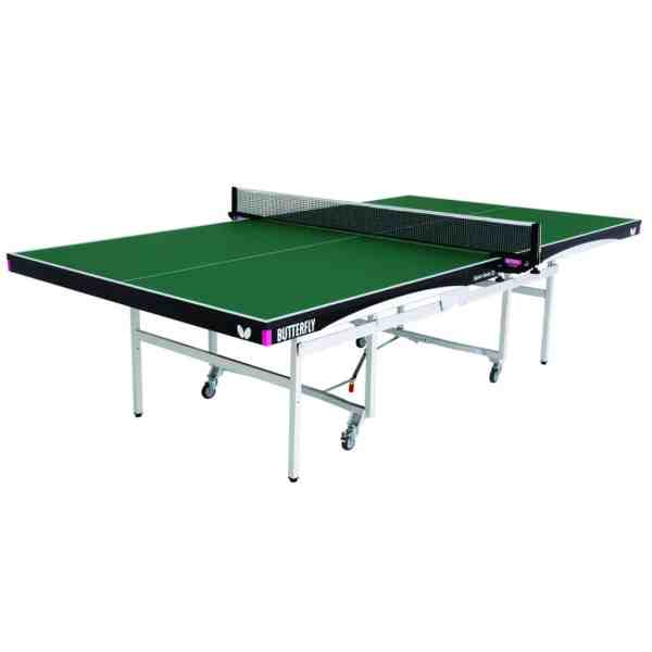 Butterfly Space Saver 25 Green Rollaway Table