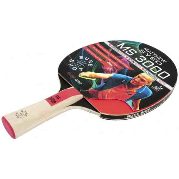 Sure Shot Matthew Syed 3000 Table Tennis Bat