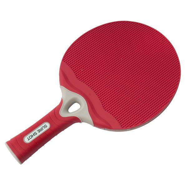 Sure Shot Matthew Syed Outdoor Red Table Tennis Bat
