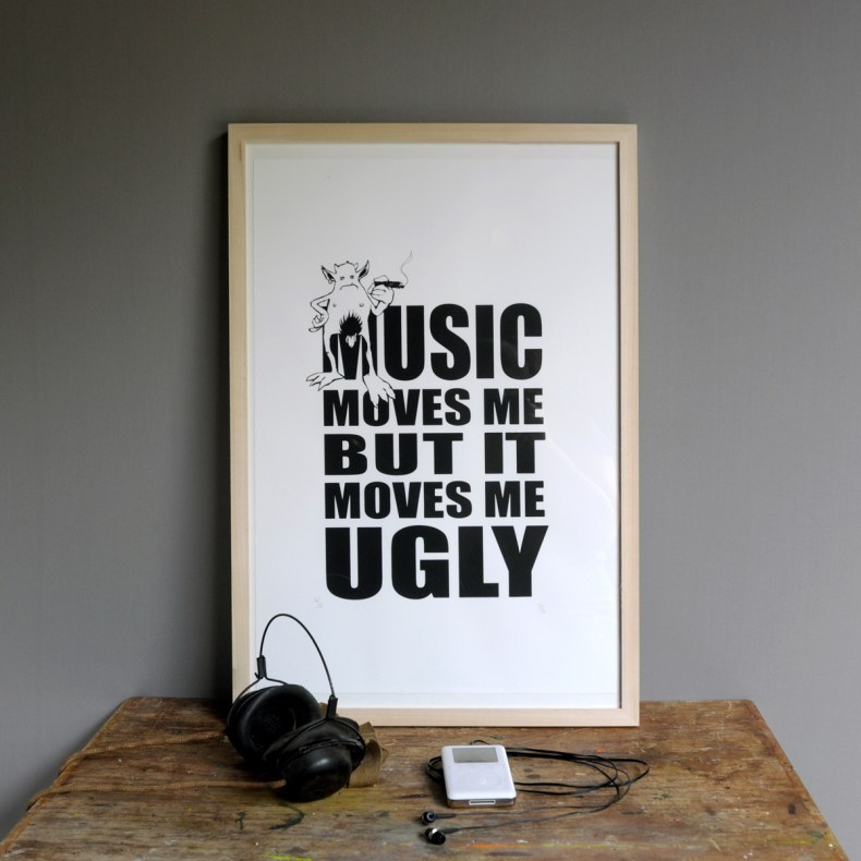 Music moves me artwork
