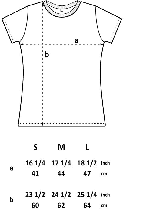 Bamboo ladies fit T-shirt