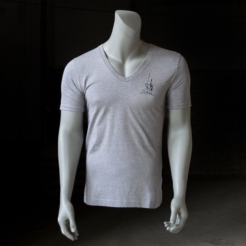 Heater grey Vneck