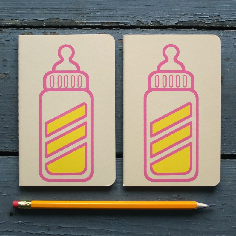Baby Charger Moleskine soft yellow