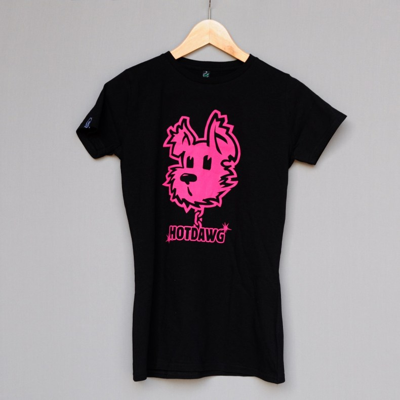 Hot dawg black Tee