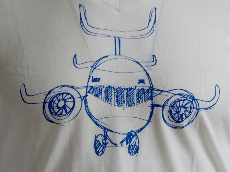 Joy Flight pima cotton tee
