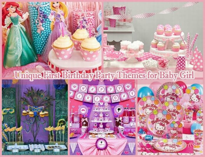 Birthday decoration images for baby girl for 1st birthday girl decoration