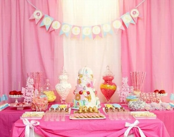 Birthday decoration images for baby girl for Baby girl birthday decoration pictures