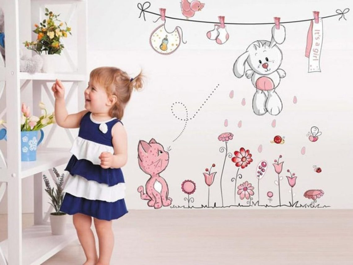 Funny And Cool Decorative Wall Decals For Kids Room