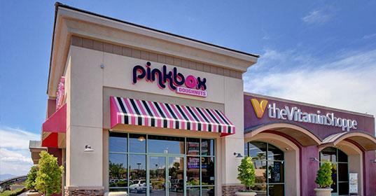 Pinkbox Doughnuts® 10251 S. Eastern Ave. Henderson, NV89052